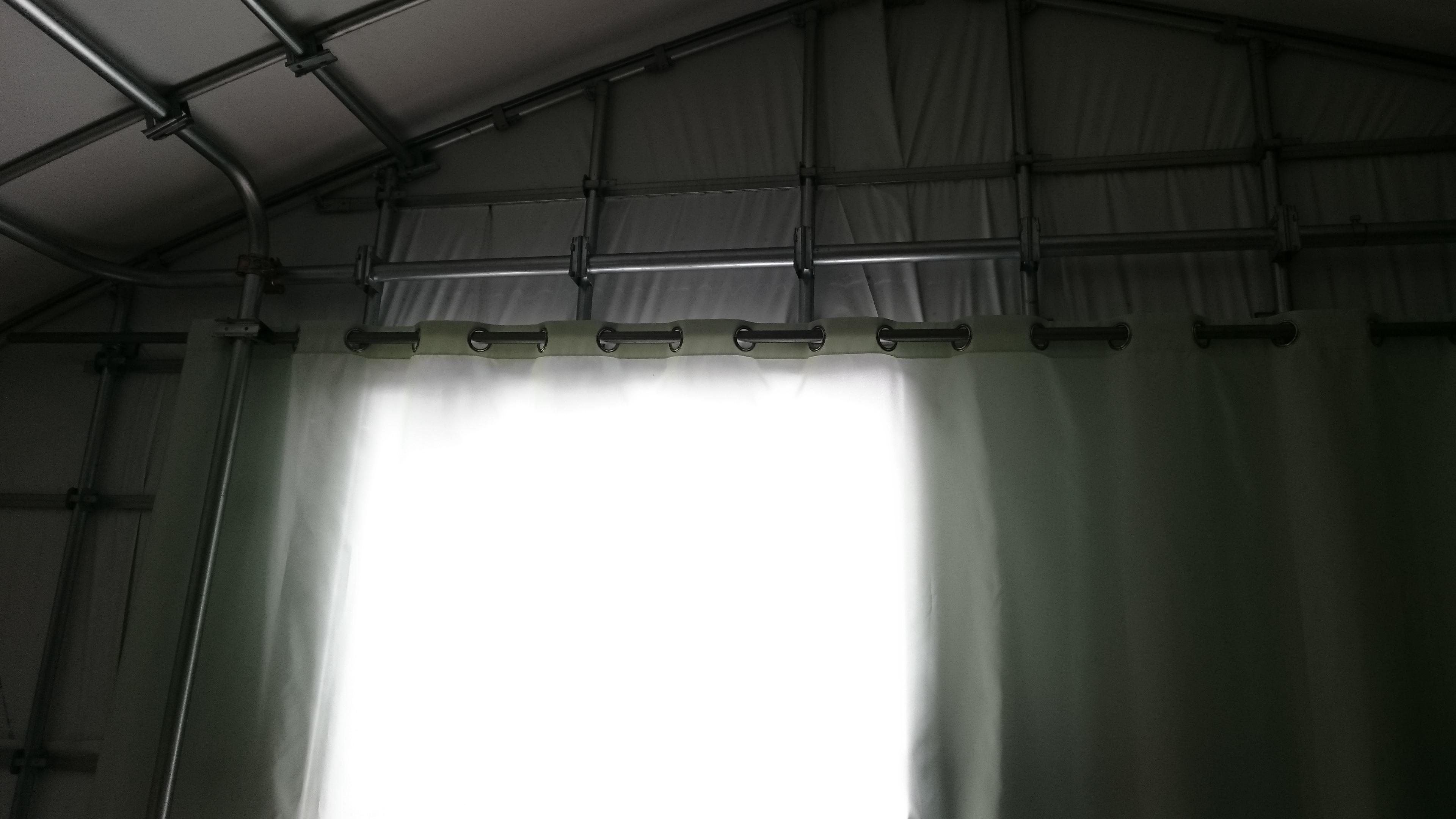 シャワーカーテン 工事後
