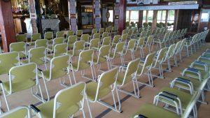 本堂用お詣り椅子 後