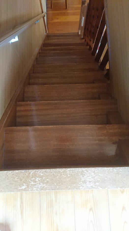 階段シート貼る前