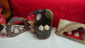 雛人形 陶器